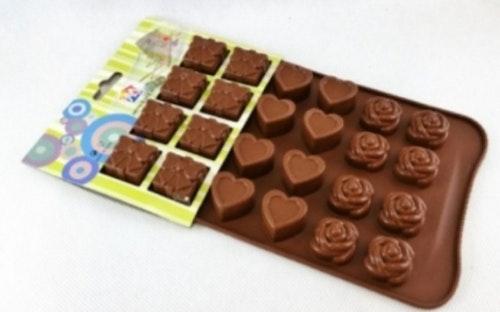 Silikonform för choklad ( NY )