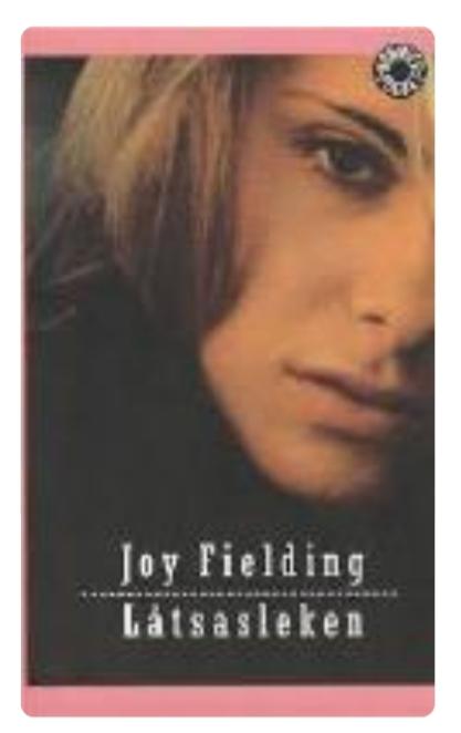 JOY FIELDING LÅTSASLEKEN  (  BEGAGNAD )