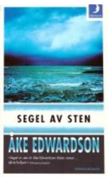 ÅKE EDWARDSON SEGEL AV STEN ( BEGAGNAD)