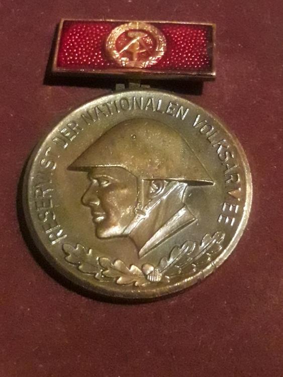 GERMANY, DDR medal  RESERVIST DER NATIONALEN VOLKSARMEE NVA
