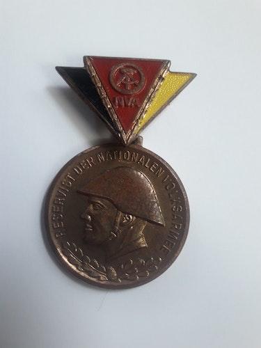 DDR  NATIONALEN VOLKSARMEE
