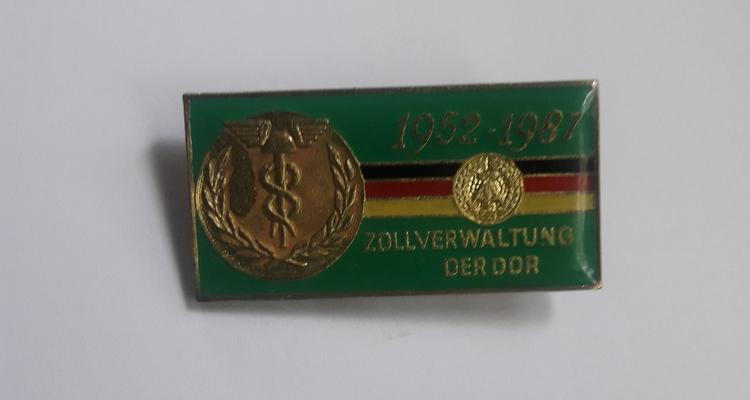 ZOLLVERWALTUNG DER DDR ( DDR  TULLENS MÄRKE )