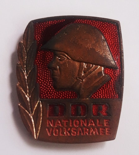 MEDALJ DDR  NATIONALEN VOLKSARMEE