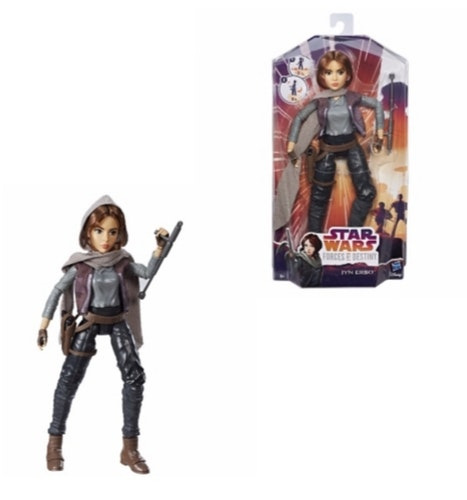 Star Wars Forces of Destiny: Jyn Erso, Docka 28 cm