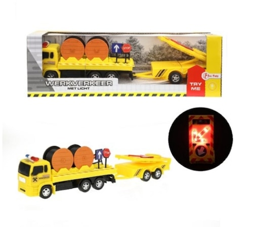 CONSTRUCTION TRUCK WITH LIGHTNL