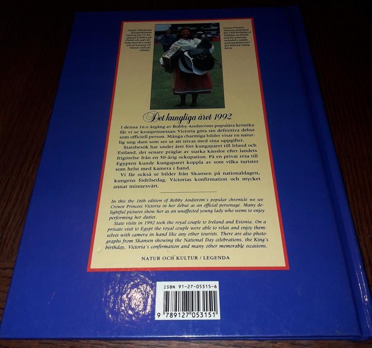 DET KUNGLIGA ÅRET 1992  BOBBY ANDSTRÖM •  ERHAN GUNER