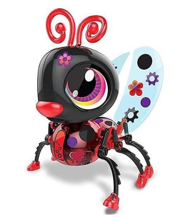 Bygg en Bug Robot Nyckelpiga 25 Bitar