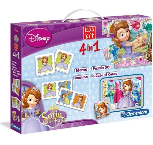 Disney Sofia Mini Edukit 4 in 1