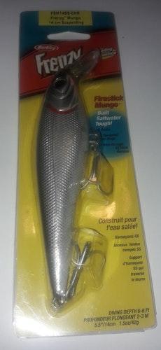 FISKE BETE FRENZY 4×HOOKS  SS HARDENED SPLIT RINGS