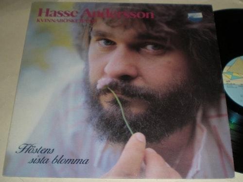 HASSE ANDERSSON  LP Höstens Sista Blomma 1983