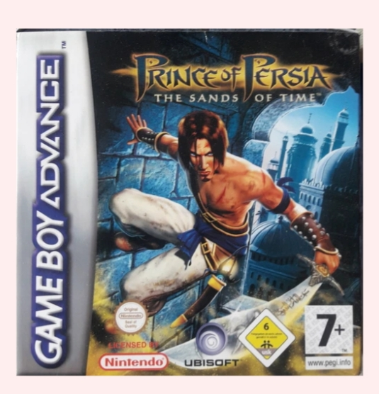 PRINCE OF PERSIA THE SANDS OF TIME GAME BOY ADVANCE