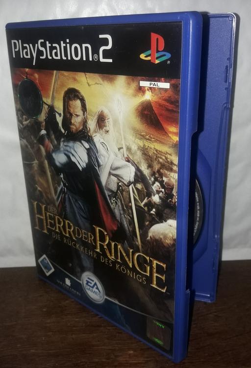 DER HEER DER RINGE  PS 2  ( BEGAGNAD)