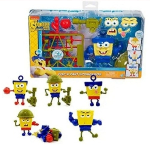 Spongebob Pop-a-Part Playset