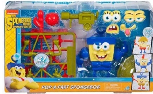 Spongebob Pop-a-Part Playset