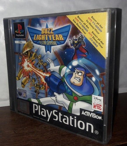 BUZZ LIGTYER OF STAR COMMAND  PS 1