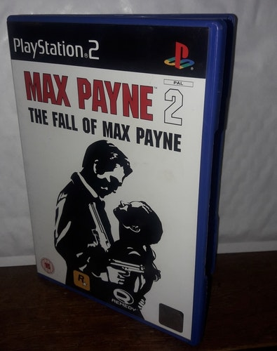 MAX PAYNE 2 THE FALL OF MAX PAYNE   Begagnat bra skick