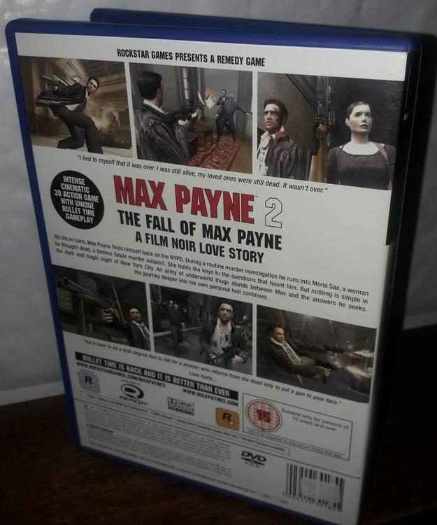 MAX PAYNE 2 THE FALL OF MAX PAYNE  Begagnat bra skick