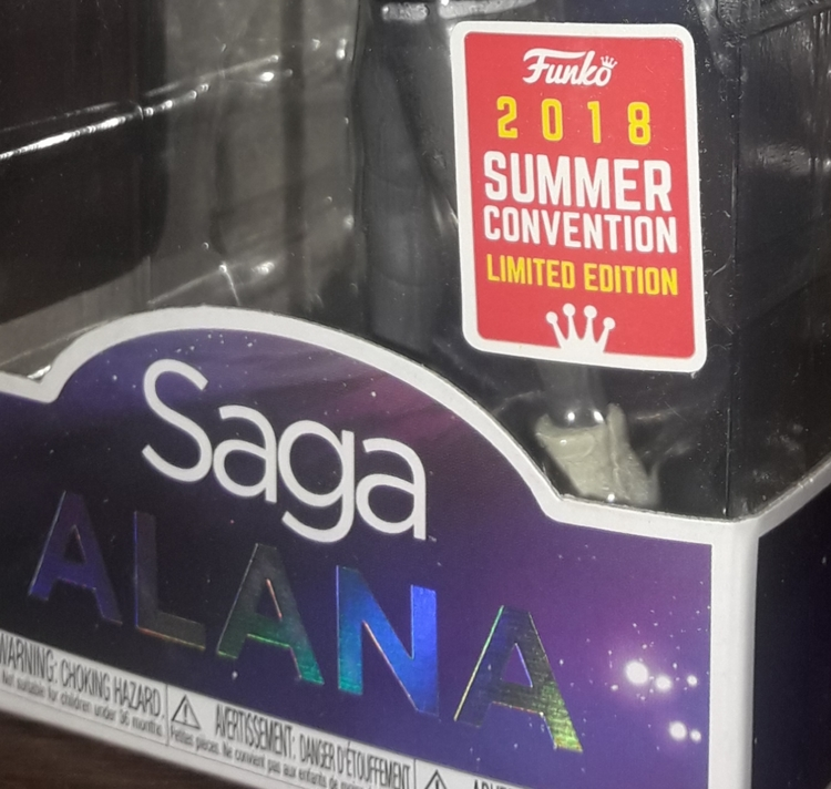 Funko Rock Candy Saga Alana 2018 Summer Convention Exclusive)