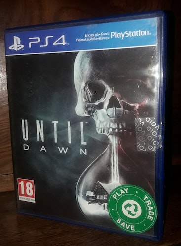 UNTIL DAWN  PS 4
