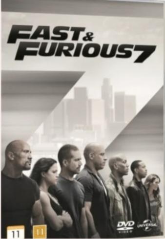 Fast & Furious 7 DVD ( NY )