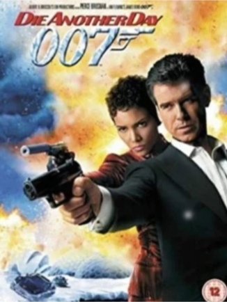DIE ANOTHER DAY 007 DVD ( NY )
