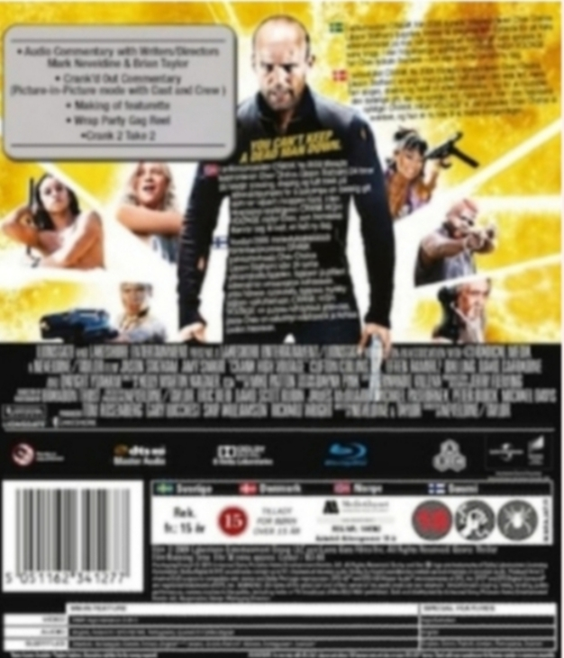 Crank / High voltage  Blu-ray
