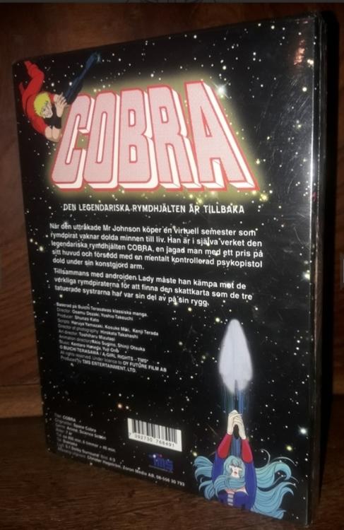 Cobra - Hela den svenska utgåvan (3-disc) 6 TIMMAR + 40 MIN ( NY )