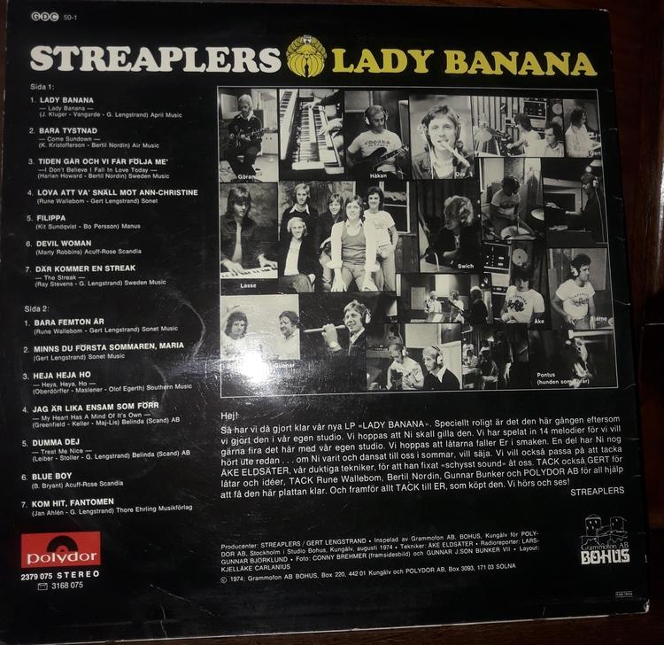 STREAPLERS LADY BANANA