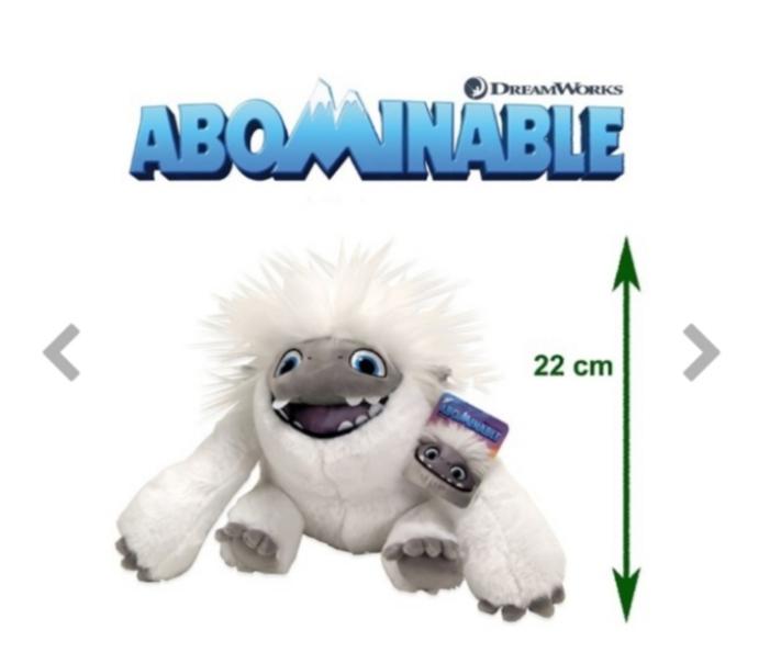 Abominable Plush Everest 22 Cm ( öppen mun )