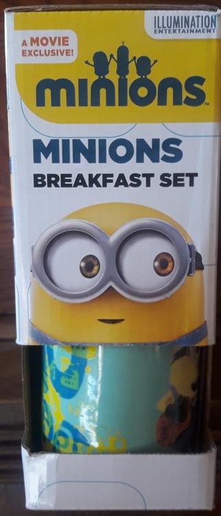 frukost set Minions 3 Delar