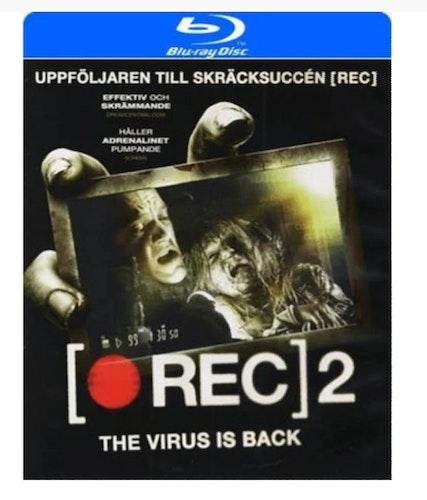 Rec 2     - Bluray (  BEGAGNAD  )