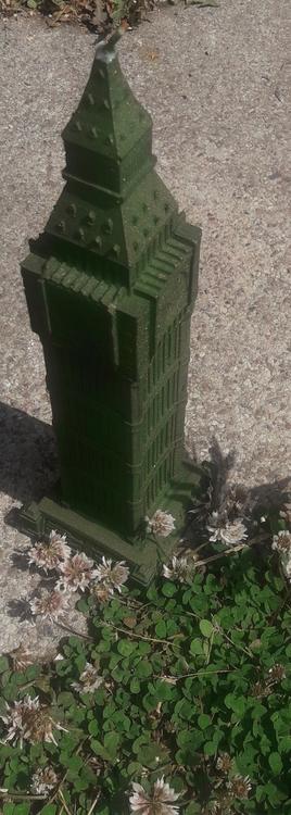 Ljus XXL Big Ben - mörkgrön pärla
