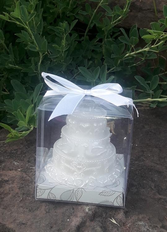 Decorative ljus tårta