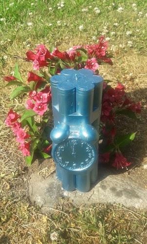 Dynamitljus XXL - blå metallic
