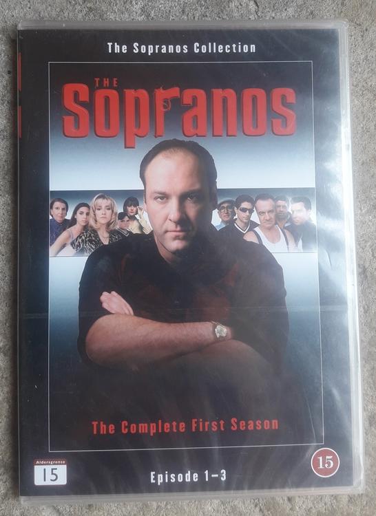 THE SOPRANOS THE FIRST SEASON EPISODE 1-3  ( NY )