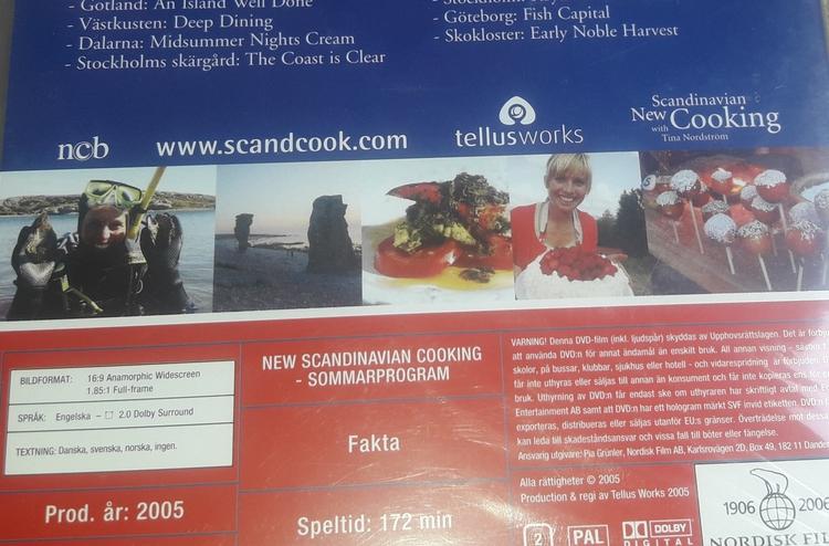 NEW SCANDINAVIAN COOKING  TINAS MATRESA GENOM SVERIGE ( NY  )