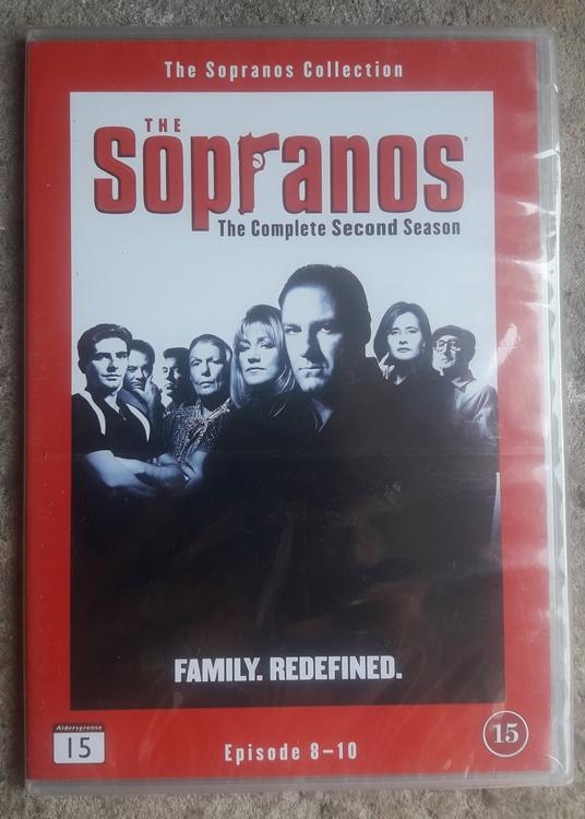 THE SOPRANOS THE SECOND SEASON EPISODE 8-10 ( NY )