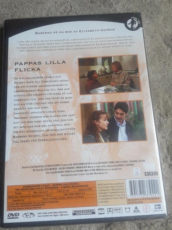 KOMMISSARIE LYNLEY PAPPAS LILLA FLICKA ( NY  )
