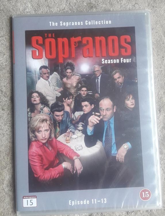 THE SOPRANOS SEASON FOUR EPISODE 11 - 13  ( NY  )