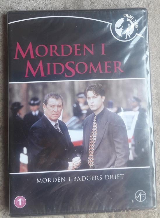 DVD - Morden i Midsomer Morden i Badgers Drift  /  ( NY )