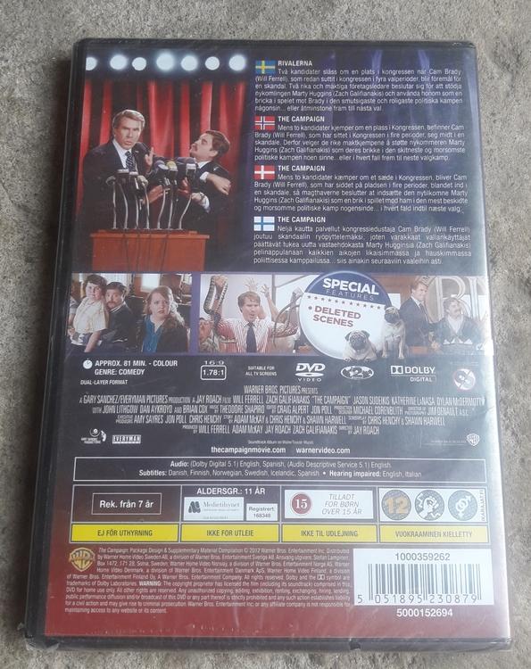 THE CAMPAIGN - WILL FERRELL (DVD)   ( NY  )