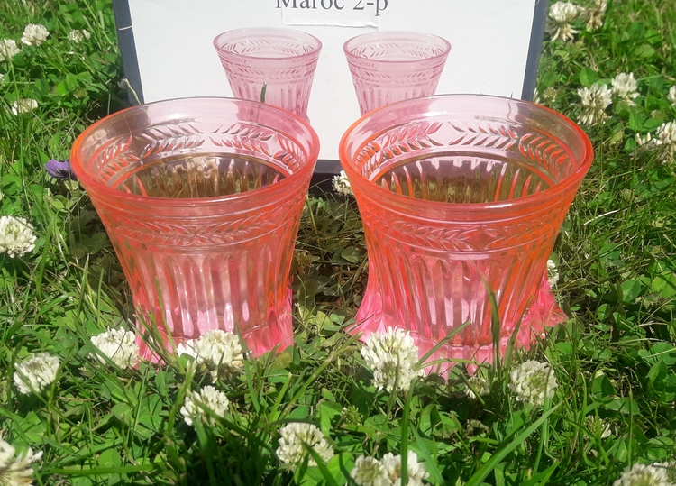 MAROC GLAS  2 PACK ROSA   ( NYA  )
