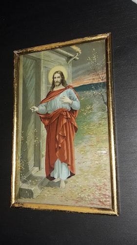 TAVLA JESUS Se jag står framför dörren och klappar. JENNY NYSTRÖM