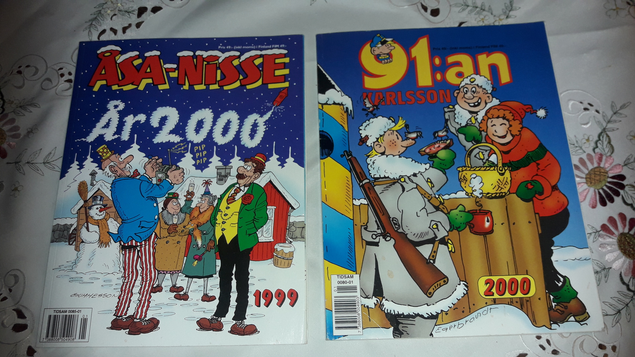 ÅSA-NISE & 91an  - KARLSSON - 99  -2000