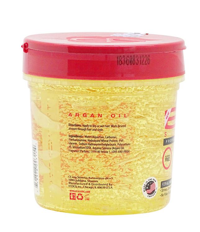 Styling Gel Argan Oil