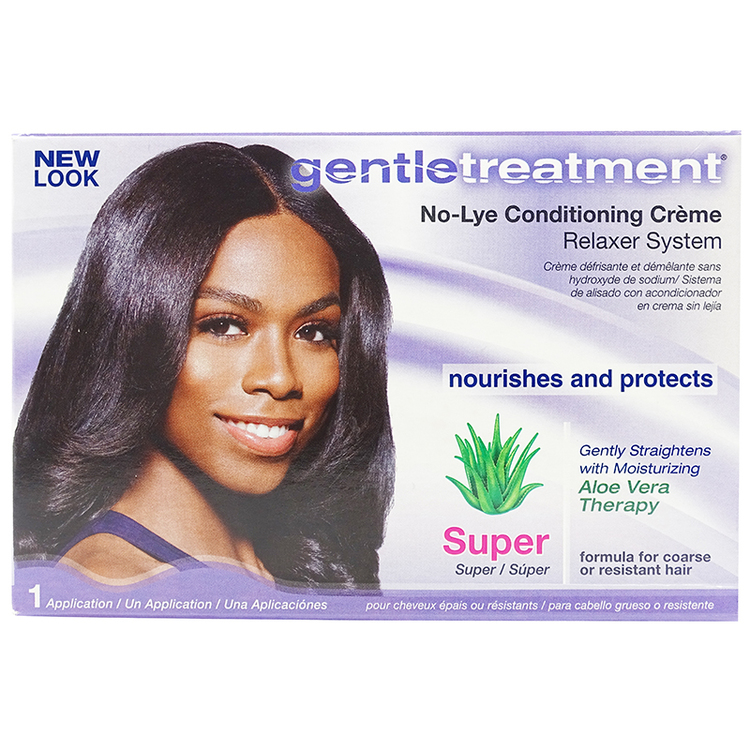 Gentle Treatment No-Lye Conditioning Creme Relaxer Super