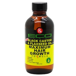 Eco Style Black Castor & Flaxseed Oil Maximum Hair Growth Formula 118ml