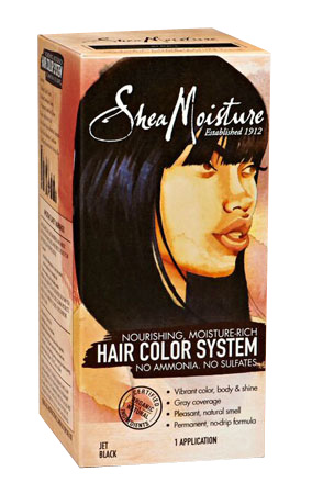 Shea Moisture Hair Color Systen Jet Black