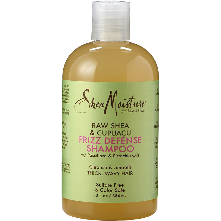Raw Shea & Cupuacu Frizz Defense Shampoo 384ml