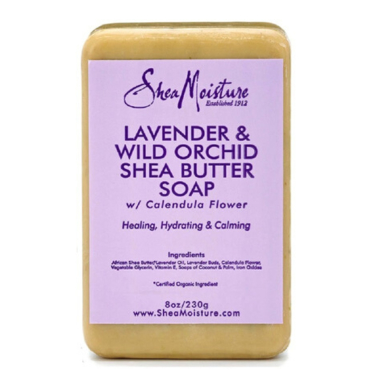 Lavender & Wild Orchid Shea Butter Soap 230g